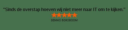 Testimonial Dennis Borsboom