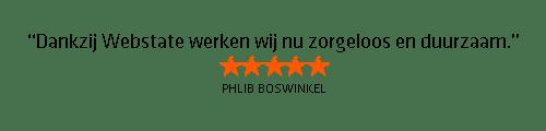 Testimonial Phlip Boswinkel