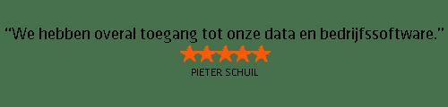 Testimonial Pieter Schuil
