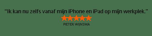 Testimonial Pieter Wijnsma