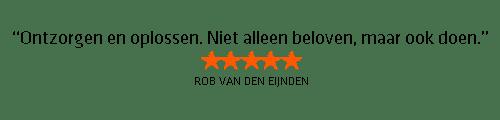 Testimonial Rob van den Eijnden