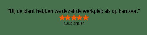 Testimonial Ruus Speijer