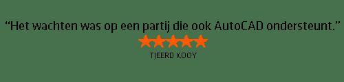 Testimonial Tjeerd Kooy